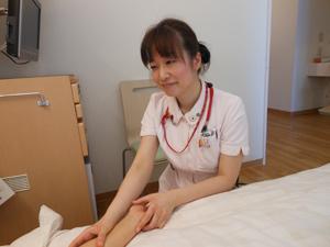 アロマケアを介入して患者さんのそばに寄り添った看護の実践