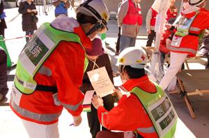 イベント災害救護訓練