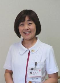 感染管理認定看護師 金澤 靖子